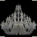 1409/24+12+6/530/G Хрустальная подвесная люстра Bohemia Ivele Crystal (Богемия), 1409