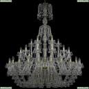 1409/24+12+6/530/XL-169/G Хрустальная подвесная люстра Bohemia Ivele Crystal (Богемия), 1409