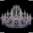 1410/12+6/300/G/V7010 Подвесная люстра Bohemia Ivele Crystal (Богемия), 1410