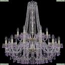 1410/12+6/300/h-95/2d/G/V7010 Подвесная люстра Bohemia Ivele Crystal (Богемия), 1410
