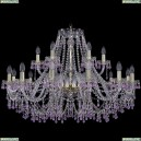 1410/12+6/360/G/V7010 Подвесная люстра Bohemia Ivele Crystal (Богемия), 1410