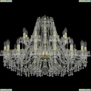 1410/16+8/360/G/V0300 Подвесная люстра Bohemia Ivele Crystal (Богемия), 1410
