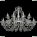 1410/16+8/460/Ni/V0300 Подвесная люстра Bohemia Ivele Crystal (Богемия), 1410