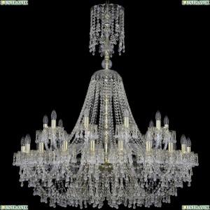 1410/20+10/400/XL-130/G/V0300 Подвесная люстра Bohemia Ivele Crystal (Богемия), 1410