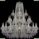 1410/20+10+5/360/3d/G/V7010 Подвесная люстра Bohemia Ivele Crystal (Богемия), 1410