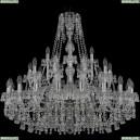 1410/20+10+5/360/Ni/V0300 Подвесная люстра Bohemia Ivele Crystal (Богемия), 1410
