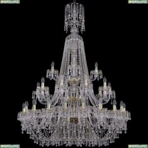1410/20+10+5/400/XL-158/3d/G/V0300 Подвесная люстра Bohemia Ivele Crystal (Богемия), 1410