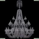1410/20+10+5/530/XL-200/3d/Ni/V0300 Подвесная люстра Bohemia Ivele Crystal (Богемия), 1410