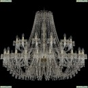 1410/24+12/530/G/V0300 Подвесная люстра Bohemia Ivele Crystal (Богемия), 1410