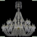 1410/24+12/530/XL-156/G/V0300 Подвесная люстра Bohemia Ivele Crystal (Богемия), 1410