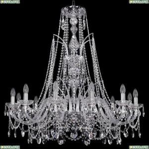 1411/12/360/XL-96/Ni Подвесная люстра Bohemia Ivele Crystal (Богемия), 1411