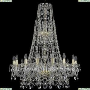 1411/16/300/XL-108/G Подвесная люстра Bohemia Ivele Crystal (Богемия), 1411