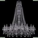 1411/20/460/XL-154/Ni Хрустальная подвесная люстра Bohemia Ivele Crystal (Богемия), 1411