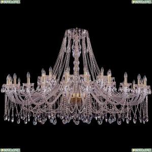 1413/24+12/700/G Подвесная люстра Bohemia Ivele Crystal (Богемия), 1413