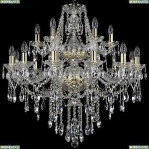 1415/12+6/300/2d/G Подвесная люстра Bohemia Ivele Crystal (Богемия), 1415
