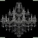 1415/12+6/360/2d/Ni Хрустальная подвесная люстра Bohemia Ivele Crystal (Богемия), 1415
