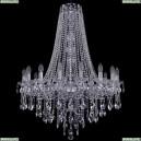 1415/16/300/h-108/Ni Хрустальная подвесная люстра Bohemia Ivele Crystal (Богемия), 1415