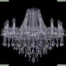 1415/16/300/Ni Хрустальная подвесная люстра Bohemia Ivele Crystal (Богемия), 1415