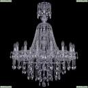 1415/16/300/XL-108/Ni Хрустальная подвесная люстра Bohemia Ivele Crystal (Богемия), 1415