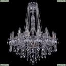 1415/16+8/300/h-106/Pa Хрустальная подвесная люстра Bohemia Ivele Crystal (Богемия), 1415
