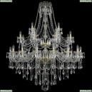 1415/16+8+4/460/2d/G Хрустальная подвесная люстра Bohemia Ivele Crystal (Богемия), 1415