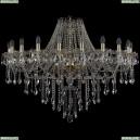 1415/20/400/G Хрустальная подвесная люстра Bohemia Ivele Crystal (Богемия), 1415