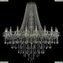 1415/20/460/h-139/G Хрустальная подвесная люстра Bohemia Ivele Crystal (Богемия), 1415