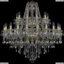 1415/20+10/360/2d/G Хрустальная подвесная люстра Bohemia Ivele Crystal (Богемия), 1415