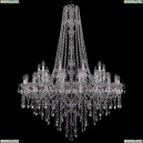 1415/20+10/400/h-154/Ni Подвесная люстра Bohemia Ivele Crystal (Богемия), 1415
