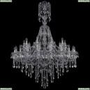 1415/20+10/400/XL-154/Ni Хрустальная подвесная люстра Bohemia Ivele Crystal (Богемия), 1415