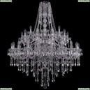 1415/20+10+5/400/2d/Ni Хрустальная подвесная люстра Bohemia Ivele Crystal (Богемия), 1415