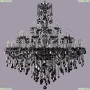 1415/20+10+5/400/Ni/M781 Хрустальная подвесная люстра Bohemia Ivele Crystal (Богемия), 1415
