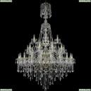 1415/20+10+5/400/XL-180/3d/G Хрустальная подвесная люстра Bohemia Ivele Crystal (Богемия), 1415