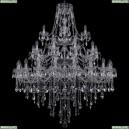 1415/20+10+5/460/3d/Ni Хрустальная подвесная люстра Bohemia Ivele Crystal (Богемия), 1415