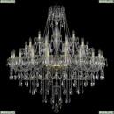 1415/20+10+5/460/G Хрустальная подвесная люстра Bohemia Ivele Crystal (Богемия), 1415