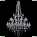 1415/20+10+5/530/h-231/3d/Ni Хрустальная подвесная люстра Bohemia Ivele Crystal (Богемия), 1415
