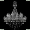 1415/24+12/530/XL-186/Ni Хрустальная подвесная люстра Bohemia Ivele Crystal (Богемия), 1415