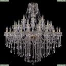 1415/24+12+6/460/G Хрустальная подвесная люстра Bohemia Ivele Crystal (Богемия), 1415