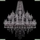 1415/24+12+6/530/2d/Ni Хрустальная подвесная люстра Bohemia Ivele Crystal (Богемия), 1415