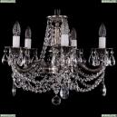 1702/5/175/C/NB Хрустальная подвесная люстра Bohemia Ivele Crystal (Богемия), 1701