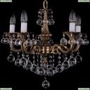 1702/5/175/B/FP/Balls Хрустальная подвесная люстра Bohemia Ivele Crystal (Богемия), 1701