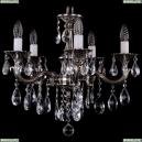 1702/5/175/B/NB Хрустальная подвесная люстра Bohemia Ivele Crystal (Богемия), 1701