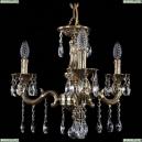 1702/3/175/A/GB Хрустальная подвесная люстра Bohemia Ivele Crystal (Богемия), 1701