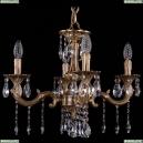 1702/4/175/A/FP Хрустальная подвесная люстра Bohemia Ivele Crystal (Богемия), 1701