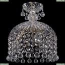 7715/22/3/Pa/Balls Хрустальная подвесная люстра Bohemia Ivele Crystal (Богемия), 7715