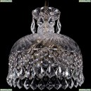 7715/30/Pa/Leafs Хрустальная подвесная люстра Bohemia Ivele Crystal (Богемия), 7715