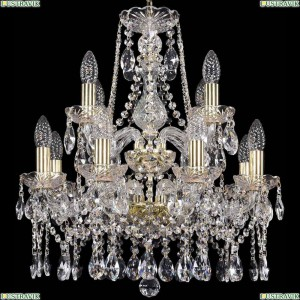 1413/8+4/165/2d/G Подвесная люстра Bohemia Ivele Crystal (Богемия), 1413
