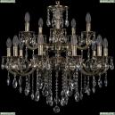 1722/10+5/250/B/GB Хрустальная подвесная люстра Bohemia Ivele Crystal