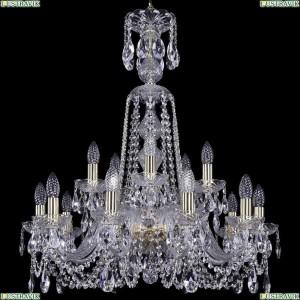 1402/10+5/240/XL-77/G Подвесная люстра Bohemia Ivele Crystal (Богемия), 1402