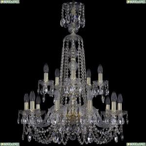1402/10+5/240/XL-90/2d/G Подвесная люстра Bohemia Ivele Crystal (Богемия), 1402